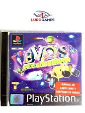 Evo S Space Adventure Sony PlayStation PSX PS1 Español