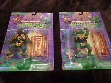 TMNT Vintage Raphael Leonardo Teenage Mutant Ninja Turtles 1998 Playmates New VG