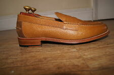 Brand New & Rare Grenson grained leather Slip-On Loafers UK 8.5 EU 42.5 RRP £195