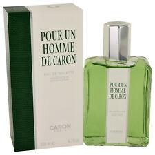 POUR UN HOMME DE CARON BY CARON 6.7 OZ EDT FOR MEN NEW IN BOX