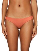 RVCA Women's 243681 Amber Solid Cheeky Bikini Bottoms Swimwear Size M