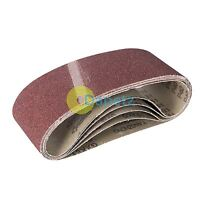 "Aluminium Oxide Sanding Belt 40G 5Pk 76 X 533mm (3 X 21"") 40G High Quality"