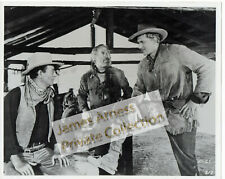 "James Arness Gunsmoke Marshal Dillon with John Wayne ""Hondo"" 8 x 10"