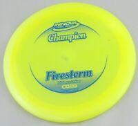 NEW Champion Firestorm 170g Driver Yellow Innova Disc Golf at Celestial Discs
