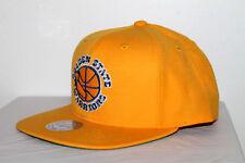 MITCHELL & NESS Golden State Warriors 5 WARRIORS SNAPBACK YELLOW NBA HAT