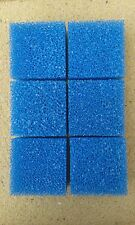 6 x Foam Pads Filter / Sponge Fish Tank Compact Replacement for Juwel Course