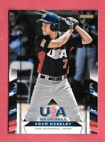 2013 Adam Haseley 20 Card Lot Panini USA Baseball Rookie - Philadelphia Phillies