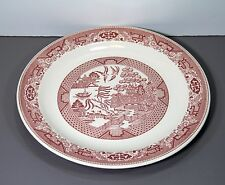 """One Pink Willow Round Chop Plate 12 1/4"""" - Royal China USA"""