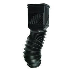 Invisaflow  2 in. W x 3 in. L Black  Plastic  Downspout Filter