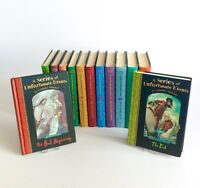 Lemony Snickets A Series Of Unfortunate Events Complete Set Bundle 1-13 Books