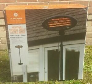 New La Hacienda Electric Patio Heater 2KW Free & Fast Delivery Trusted Seller