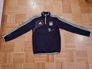 FC Bayern München matchworn Fleecetop Fleecejacke FCB Adidas Sponsor Triple 2013