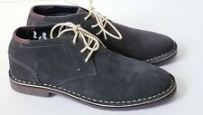 KENNETH COLE REACTION DESERT WIND GRAY SUEDE MENS BOOTS SHOES Size 8.5 M