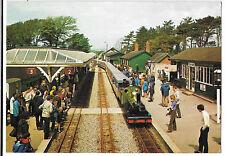 "Ravenglass & Eskdale Engine ""River Irt"" 0-8-2 PPC at Station, Unposted Judges"