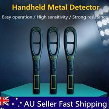 Handheld Security Metal Sensor Detector Wand & Holster Hand Held Sounder Scanner