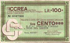 MINIASSEGNO ICCREA - FUNIVIE PINZOLO DOSS DEL SABION 1977  C6-413