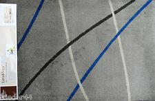 SCHMUTZFANGMATTE waschbar FUßMATTE Dekowe Prestige Linien Grau 64x97 Türmatte