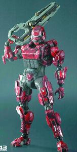 Halo 4 8 Inch Action Figure Kai Series - Spartan Soldier