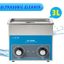 3L Limpiador Ultrasónico Calentador Ultrasonidos Timer Ultrasonic Cleaner Joyero
