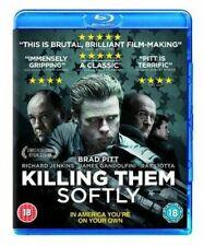 Brad Pitt James Gandolfini Killing Them Softly 2012 Crime Thriller UK Blu-ray
