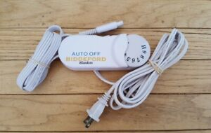 Biddeford TC13BA Electric Blanket 4 Prong Control Controller Cord White