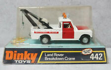 Dinky Toys 442  Land Rover Breakdown Crane Very Near Mint Boxed