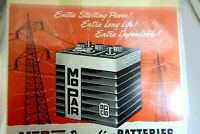 MoPar Power Line Batteries Plymouth Magazine clipping advertisement Ad