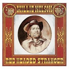Willie Nelson Red Headed Stranger 4 Extra Tracks Remastered CD NEW