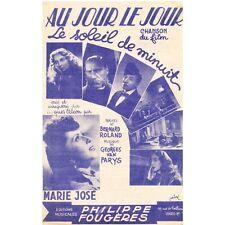 AU JOUR LE JOUR film LE SOLEIL DE MINUIT Parole Bernard ROLAND Musique VAN PARYS