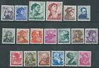1961 ITALIA MICHELANGIOLESCA 19 VALORI MNH ** - Z16-8