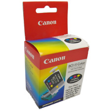 Genuine Canon BCI-11 Color Ink Cartridge 1 box of 3 for BJC-50 70 80 85 55 85w