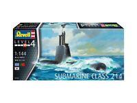 Revell 05153  - 1/144 U-Boot / Submarine Class 214 - Neu