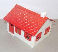 PLASTICVILLE USA Cape Cod House COMPLETE plastic O-S scale Kit Bachmann 1950's r