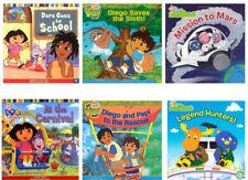 Dora the Explorer,Diego & Backyardigans 6 Book Boxed Set (8x8 pb) NEW