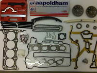 VAUXHALL CORSA ASTRA 1.2 1.4 TWINPORT HEAD GASKET SET + TIMING CHAIN KIT +TOOLS
