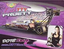 "2013 Leah Pruett Dote Racing ""2nd issued"" Top Fuel NHRA postcard"
