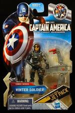 "WINTER SOLDIER ( 4"") HTF MARVEL ( COMIC SERIES ) FIRST AVENGER ACTION FIGURE #04"