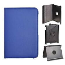 BORSA CUSTODIA BOOK CASE ROTATED per SAMSUNG GALAXY TAB 2 7.0 P3100 BLU