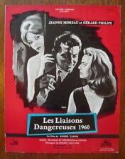 Dossier de presse de Les Liaisons dangereuses (1959) – Gérard Philipe
