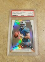 2012 TOPPS PLATINUM RYAN TANNEHILL RC Rookie Card #110 PSA 10 GEM MINT TITANS