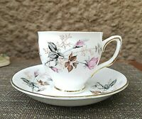 Duchess Pink Roses Bone China Tea Cup & Saucer Set England Beautiful!! #836