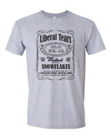 Trump 2020 Republican Conservative T-Shirt Snowflake USA Funny