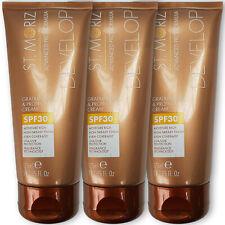 3 x St. Moriz Advanced Pro Formula Develop Gradual Tan Protect Cream Body SPF 30