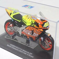 Honda RC211V Valencia GP World Champion 2003 Rider Valentino Rossi 1:22 Scale