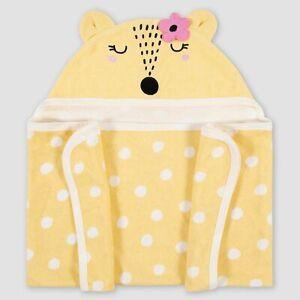 Gerber Baby Fox Hooded Bath Towel Wrap