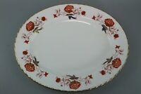 "Royal Crown Derby Bone China  ""Bali"" 33 cm Serving Meat Plate / Platter"