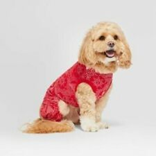 Pet Clothing - Pajamas Red Snowflake size XSmall  Hearth & Hand  with Magnolia