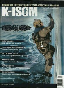 K-ISOM 1/2021 Kommando Special Operations Magazine GSG 9 Fallschirmjäger SPEZNAS