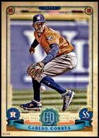 Carlos Correa 2019 Topps Gypsy Queen 5x7 #63 /49 Astros