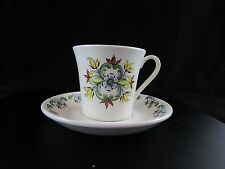 Valle F / F handpainted silkscreen China cup / saucer, Norway